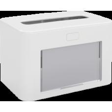 PAPERNET Interfold Galda salvešu turētājs, antibakteriāls, balts, 13,3x20x12,6 cm.