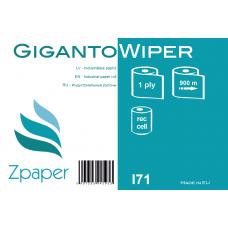 Zpaper GIGANTO WIPER Industriālais papīrs, 1 slānis, 900 m, 2 gab.