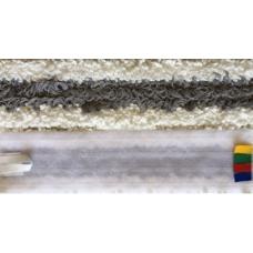 IPC EUROMOP VELCRO GREY Mikrofibras mops ar līpvirsmu, 11x60 cm.