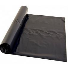Atkritumu maisi 200 l., melni, LDPE, 40 mcr., 90x120 cm., 10 gab. rullī